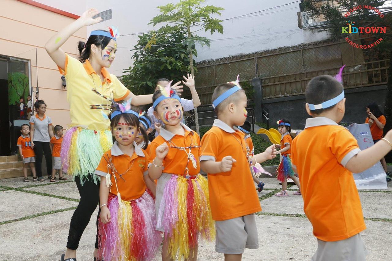 Chương trình đào tạo giúp các bé phát triển toàn diện